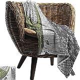 Ducan Lincoln Blanket Pool Solar Flanell Fleece Decke Toskana,Handgezeichnete Weinberge Landschaft...