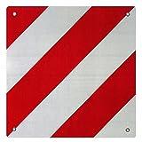 Warntafel Spanien Aluminium mit Ösen 500x500mm reflektierend rot-weiß für...