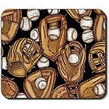 Mausunterlage - Baseballhandschuhe