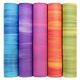 Yogamatte GANGES mit OEKO-TEX, Allround-Matte für Yoga, Gymnastik & Pilates mit guter Dämpfung,...