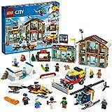 LEGO 60203 City Ski Resort, Bauset, Schnee-Spielzeug für Kinder, bunt