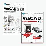 ViaCAD 2D/3D 10 inkl. ViaCAD PowerPack 10 - 3D Druck - Das innovative CAD-Werkzeug für präzises 3D...